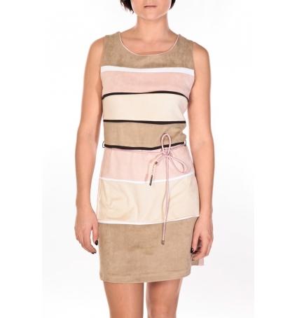 Dress Code Robe Torino beige/rose/crème