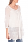 Vision de Reve Tunique women 7055 Blanc