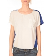 Vero Moda Top Félina 10074109 Bleu/Blanc