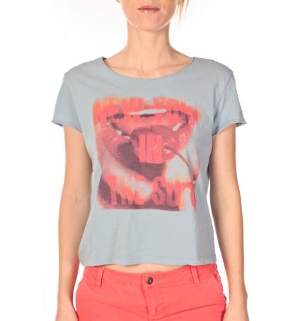 VERO MODA  t-shirt  New Sun Bleu