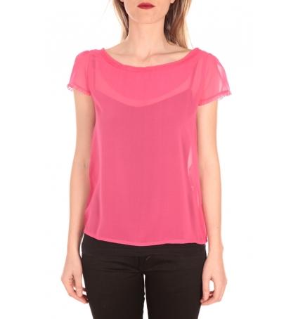 Aggabarti t-shirt voile 121072 fushia