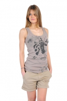 Rich & Royal T-shirt 11q436 Beige