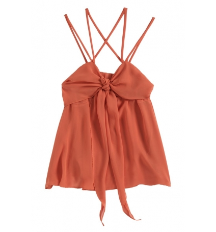 Aggabarti Top 121068 Orange
