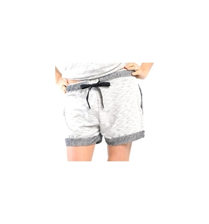 SHORT PLACIDE GRIS CHINE