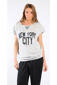 SWEAT SHIRT LAUMIERE GRIS CHINE
