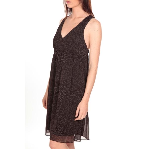 vero moda robe 10083554 noire s. Black Bedroom Furniture Sets. Home Design Ideas