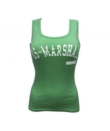 sweet company débardeur US marshall vert