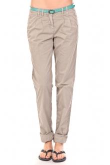 Tom Tailor Pantalon Ceinture gris