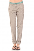 Tom Tailor Pantalon Ceinture gris