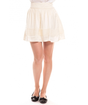 vero moda jupe BENTTY blanche