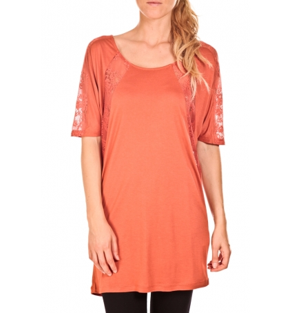 Vero Moda Top Bess long Orange