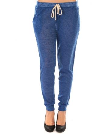 Sweet Company Pantalon American Vitrine Bleu roi
