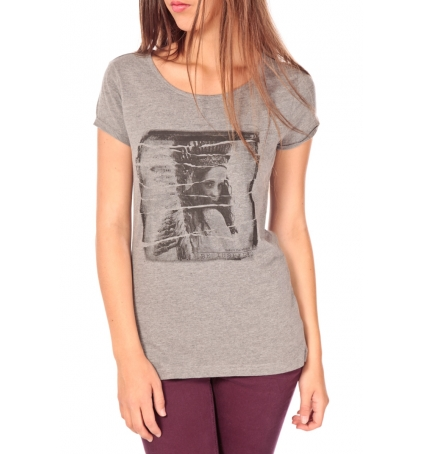 Tom Tailor T-shirt With Print Gris