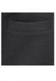 Petit Bateau Jupe courte Femme Trapèze en molleton fleece Noir