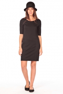 VERO MODA Lynette 2/4 pocke dress noir