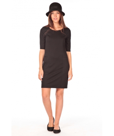 VERO MODA Lynette 2/4 pocke dress noir