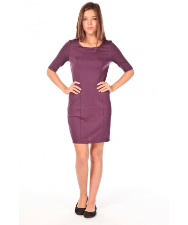 VERO MODA Lynette 2/4 pocke dress violet