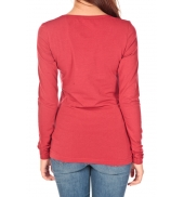 Tom Tailor Lara Stretch Longsleeve Rouge
