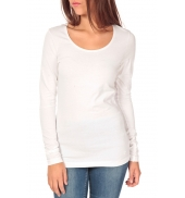 Tom Tailor Lara Stretch Longsleeve Blanc