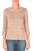 Tom Tailor Cute a-shape Sweater Beige