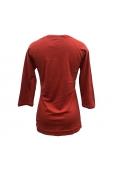 Tom Tailor Top fem. Basic Shirt Rouge