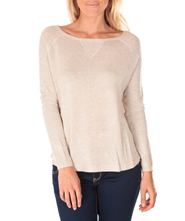 Tom Tailor Top Boxy Knit Jumper Perle