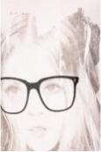 VERO MODA AMANDA GLASSES SS TOP blanc/noir