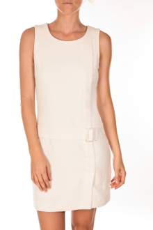VERO MODA LULIX SL SHORT DRESS BG écru