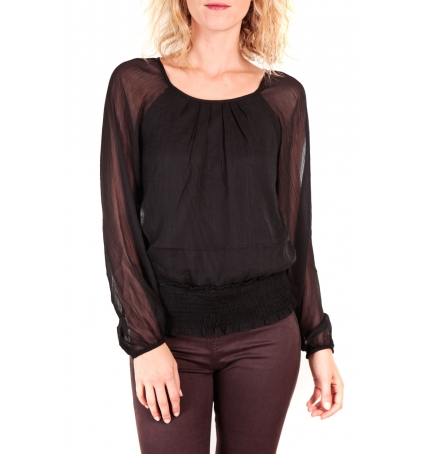 Vero Moda Neeba Maria Dicte LS Top Mix EA