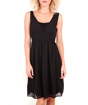 Vero Moda Prim ABB Knee Dress PP Noir