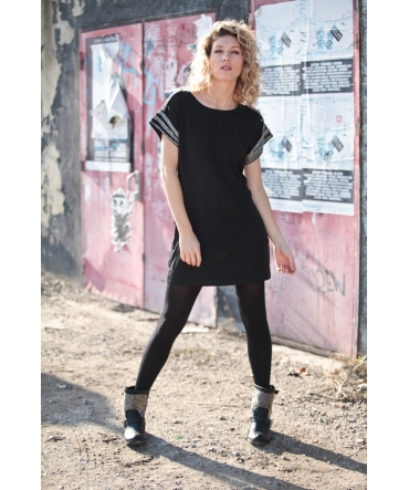 Vero Moda Mandy SS Mini Dress EA Noir