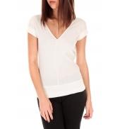by la vitrine T-shirt dos cache coeur 017 Blanc