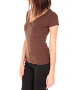 by la vitrine T-shirt basic cache cœur 23E-14 Marron