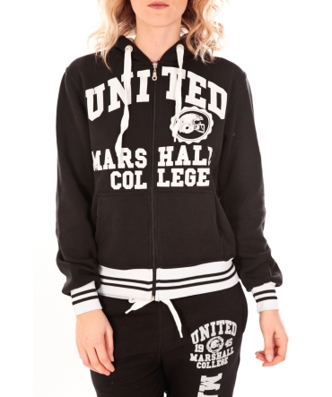 Sweet Company Veste UNITED MARSHALL COLLEGE Blanche