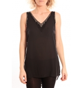 Vero Moda Pearl SL Long Top Noir