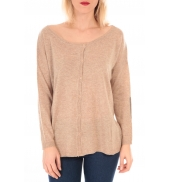 TCQB Gilet And Love 1051 Beige - 1 acheté = 1 offert