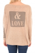 TCQB Gilet And Love 1051 Beige