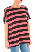 Vero Moda CHELLA 2/4 LONG TOP KM WALL Rose