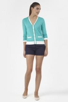 PETIT BATEAU Cardigan femme colorblock en tricot 32315 68