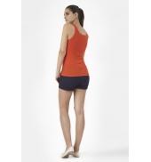 Petit Bateau Marcel femme en coton léger 32801 82 Orange