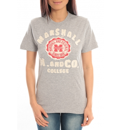 Sweet Company T-shirt Marshall Original M and Co 2346 Gris