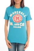 Sweet Company T-shirt Marshall Original M and Co 2346 Bleu