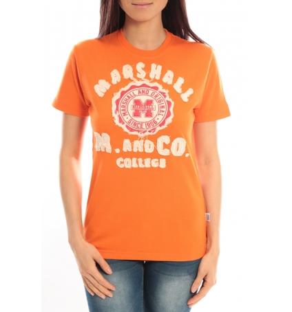 Sweet Company T-shirt Marshall Original M and Co 2346 Orange