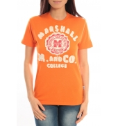 Sweet Company T-shirt Marshall Original M and Co 2346 Orange