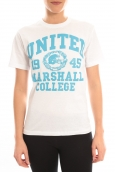 Sweet Company T-shirt United Marshall College Bleu