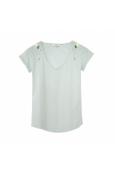 Blune T-shirt Larmes de Joie LJ-TF01E13 Vert