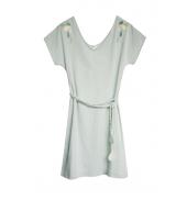 Blune Robe Larme de Joie LJ-RF01E13 Verte