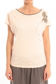Blune T-Shirt Libre Comme l'Air LCL-TF02E13 Rose