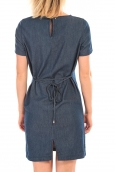 VERO MODA MY SS SHORT DENIM DRESS Bleu