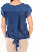 By la Vitrine T-Shirt BLV 05 Bleu